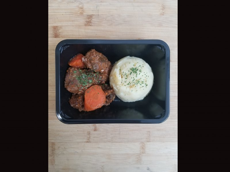 PREPSHOP product image: Braised Beef with Mashed Potatoes
